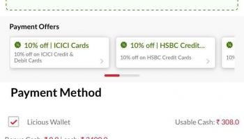 Latest Coupon Code Offer : Licious 100% Cashback [Licious cash]