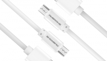 Ambrane Acm-1 1 M Micro Usb Cable(Compatible With Android Devices, White, Pack Of: 2)