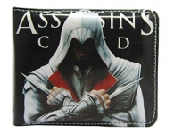 Poland Polypropylene And Synthetic Assassins Creed Graphics Super Hero Men'S Wallet (Black)