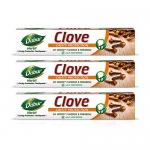 Dabur Herb'L Clove – Cavity Protection Toothpaste With No Added Fluoride And Parabens- 200 G (Pack Of 3)