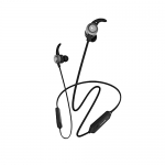 Wings Sonic Bluetooth Headphones With Type-C Fast Charging, 15 Hours Playtime And Vibration Alert Feature (Black)