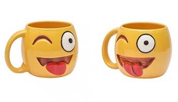 Anwaliya Ceramic Coffee Mug – 2 Pieces, 250 Ml