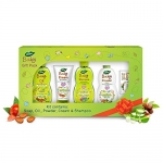 Dabur Baby Gift Pack (5 Pieces) – Daily Baby Care Essentials With No Harmful Chemicals | Hypoallergenic & Dermatologically Tested With No Paraben And Phthalates
