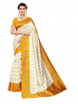 Runaya Nx Printed Art Silk Saree(Sun)