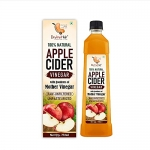 Dry Fruit Hub Apple Cider Vinegar 750Ml, With Strand Of Mother, Not From Concentrate, Apple Cider Vinegar, Organic Apple Cider Vinegar