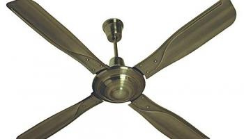 (Renewed) Havells Yorker 1320Mm Ceiling Fan (Antique Brass) (Yorker-Cr)
