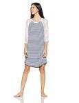 Shyla By Fbb Women'S Dressing Gown (1000874591003_Navy_M)
