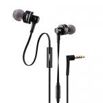 Vogix® Trendz E01 New Super Bass Headphones With Mic (Trendy Black)