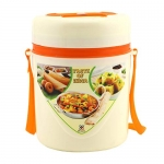 Pearl Executive Insulated Lunch Box (3 Containers With Side Dish Holder_Multicolor)