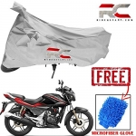 Riderscart All Season (Weather) Waterproof Bike Cover For Hero Xtreme Sports Indoor Outdoor Protection Combo With Storage Bag And Microfiber Glove