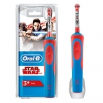 Oral B Kids Electric Rechargeable Toothbrush, Featuring Star Wars Characters