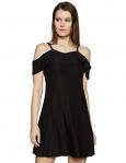 Lee Cooper Women'S Animal Print Regular Fit T-Shirt (Lckt572Black_Black Xl)