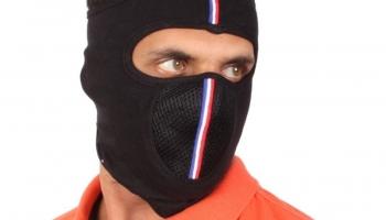 Sushito Black Bike Face Mask For Men & Women(Size: Free,  Balaclava)