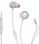 Jbl Quantum 50 Wired Gaming Headset(White, Blue, In The Ear)