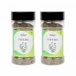Malikaz' The Royale Taste Dried Thyme Jar, 2 X 25 G