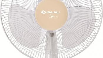 Bajaj Midiea Bt-07 400Mm 400 Mm 3 Blade Table Fan(White, Pack Of 1)