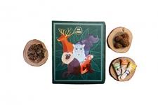 Go Desi Gift Box With Popz & Chocolate Coconut Ladoos