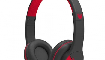 Ant Audio Treble 500 On -Ear Hd Bluetooth Headphones With Mic (Black And Red)