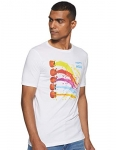 Cloth Theory Men'S Holi T-Shirt (Cthom_013_White Small)