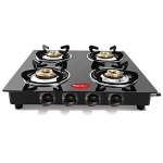 Pigeon By Stovekraft Aster 4 Burner Gas Stove