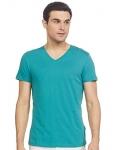 Jack & Jones Men'S Solid Slim Fit T-Shirt (12126026_Teal L)