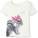 Gap Girls' T-Shirt (143485040007_32926624509_Ivory Frost_4Yrs)