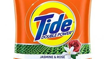 Tide Plus Extra Power Detergent Washing Powder – 4 Kg + 1 Kg Free (Jasmine And Rose)