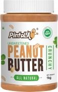 Pintola All Natural Crunchy Peanut Butter, 1Kg