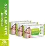 Best Offer on BodyGuard Baby Wet Wipes    (216 Wipes)
