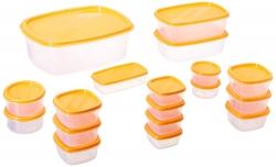 Princeware SF Package Container Set, 18-Pieces, Orange
