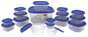 Princeware SF Pak Container Set, 17-Pieces