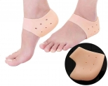 Purastep Silicone Gel Heel Pad Socks for Pain Relief – 1 Pair