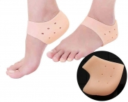 Purastep Silicone Gel Heel Pad Socks for Pain Relief – 1 Pair