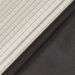 Raymond Men's Checkered Combo Fabric