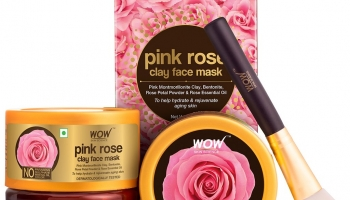 Great Offer on WOW Skin Science Pink Rose Clay Face Mask