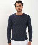 Round Neck Casual Men Sweater