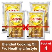Saffola Gold, Pro Healthy Oil, 4 X 1 L