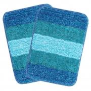 Saral Home Microfiber Bath Mat – Pack of 2