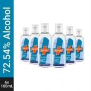 Savlon Active Gel Hand Sanitizer Bottle  (6 x 100 ml)