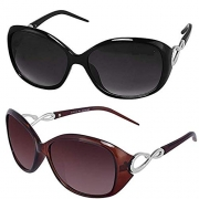 Sheomy Womens Sunglasses Of 2 Combo Of 2 Sunglass
