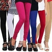 Shmayra Leggings for Womens Free Size – (Pack of 6)