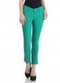 Slim Women Green Jeans