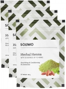 Solimo Herbal Henna, 200g (Pack of 3)