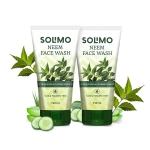 Solimo Neem Facewash, 2 X 150 ml