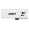 Sony Micro Vault 32GB USB Flash Drive (White)