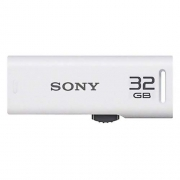 Sony Micro Vault 32GB USB Flash Drive (White)