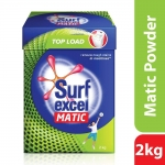 (Great Discount) Surf Excel Matic Top Load Detergent Powder, 2 kg