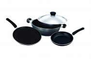 Surya Accent Cookware Set, 4-Pieces