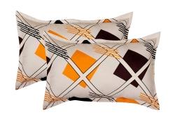 Trendz Home Furnishing Cotton 2 Piece Cotton Pillow Cover Set