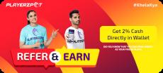 PlayerzPot App Refer & Earn Offer – Get Rs. 50 On Signup
